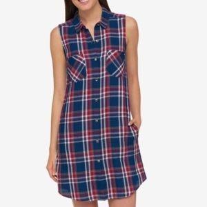 BOGO$ tommy Hilfiger women's plaid dress sz 12